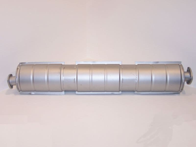 Exhaust silencer box, VW Type 25 1900 & 2100cc Waterboxer engines 1986-1992