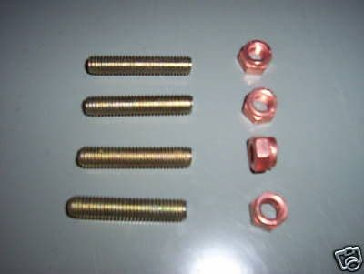 Exhaust studs and nuts up to 1600cc