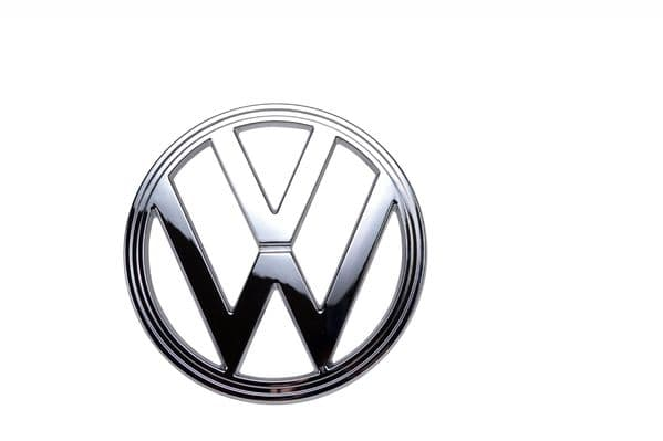 Front Badge in chrome VW Type 2 Bay window 1973 to 1979