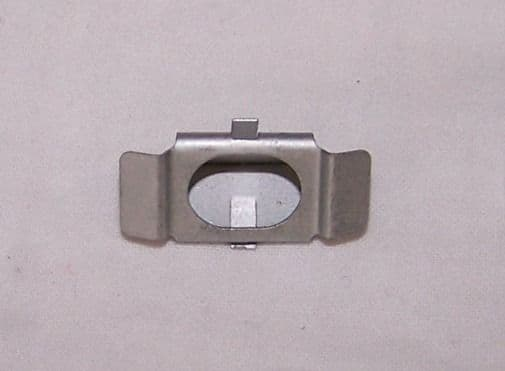 Grille retaining clip for pin T25
