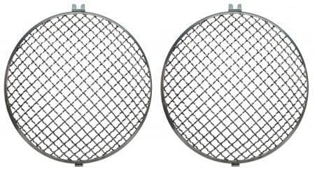 Headlight Chrome Mesh Grilles sold as a Pair for Beetle or Type 2 1950-1967