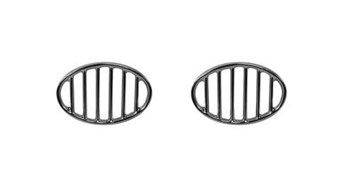 Horn grills sold as a pair for VW Beetle 1952 to 1967 and 1200cc up to 7/1972
