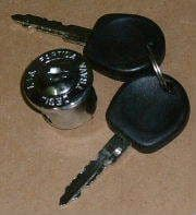 Ignition barrel and keys VW Beetle and Type 2 68>71