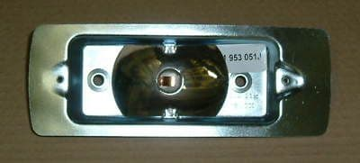 Indicator backing plate front lower left hand side, VW Type 2 1968-1972
