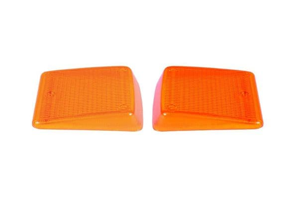 Indicator lenses a pair for the front VW Type 2 Bay window 1972 to 1979