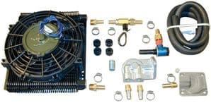 Oil Cooler Kit with Fan Universal fitting for VW Type 1 engine 1960-1979