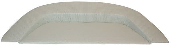 Parcel shelf rear, In Quality White vinyl, VW Beetle up to 1979