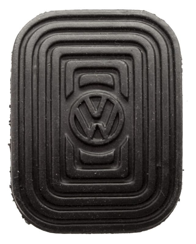 Pedal rubber, Brake or clutch VW Beetle 1958-1979 or Type 2 1955-1967 air cooled