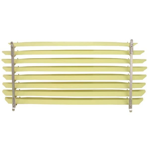 Rear Window Blind with Ivory Coloured Slats for VW Beetle 1965-1971