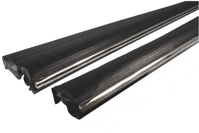 Running boards sold as a Pair, Mexican heavy duty VW Beetle Type 1 1966-1979