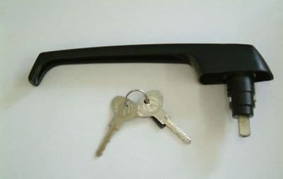 Sliding door outer handle and keys VW Type 25 1979 to 1984 RHD