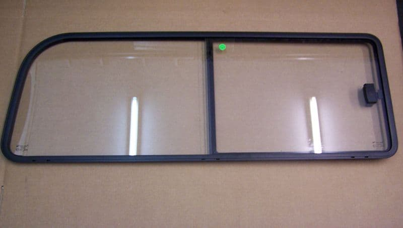 Sliding window VW Type 2 1968 to 1979 Left side Rear window