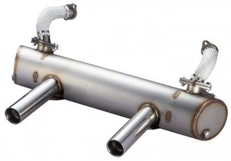 Vintage Speed Sports Exhaust System for VW Beetle Type 1 1960-1979
