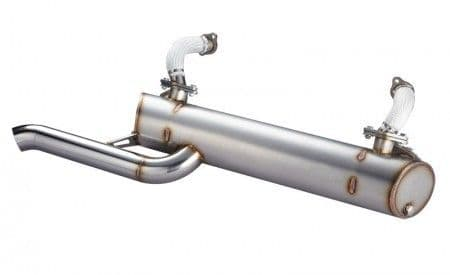 Vintage Speed Sports Exhaust System, Standard Tail Pipe VW Type 2 Bay 1968-1979