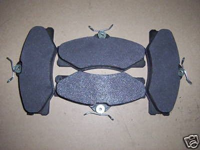 VW T25 van 7/86 to 91 front brake pads cresent shaped