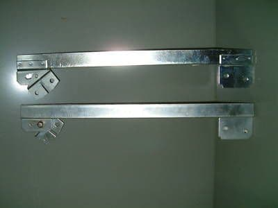 Window lifter channels VW Beetle 8/1964 to 3/1968 sold as a pair
