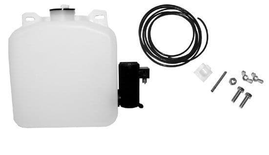 Windscreen washer bottle kit 12 volt with electric pump