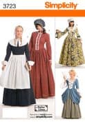 3723 Simplicity Pattern: Misses' Costumes