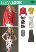 6013 New Look Pattern: Misses Separates