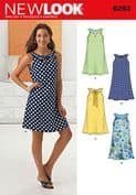 6263 New Look Pattern: Misses' A-Line Dress
