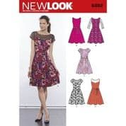 6392  New Look Pattern: Womans Dresses