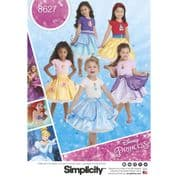 8627 Simplicity Pattern: Child's Character Skirts