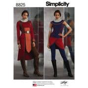8825 Simplicity Pattern: Misses' Knit Costumes