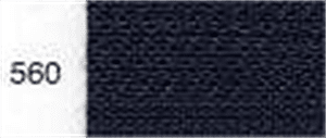 Invisible / Concealed Nylon Zipper - Colour 560 - Dark Navy