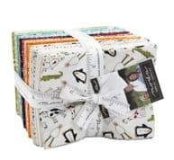 """Animal Crackers  - Fat Quarter Bundle by Sweetwater  for Moda Fabrics - 40 FQs 18"""" x 22"""""""