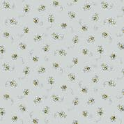 Bumble Bees 7450 - Makower 9715.C1 - Bumble Bees  on Light Grey Cotton Fabric