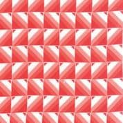 CW-H003 - Moda 10844.18 -  Red Squares on White  - Cotton Fabric