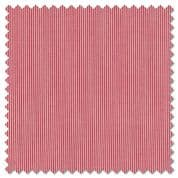 CW-H006 - Makower Pinstripe  2088 R -  Red and Whte - Cotton Fabric