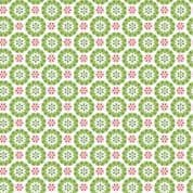 CW-X034 - Snowflake Geometric on Off White Background - Lewis and Irene -  Cotton Fabric