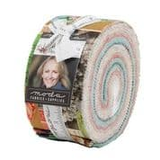 "Flea Market Mix - Jelly Roll by Cathe Holden for Moda Fabrics - 40 x 2.5"" Fabric Strips"