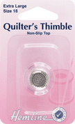 Hemline Quilters' Thimble - Size Extra Large