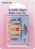 Invisible Zipper Roller Foot Set - 5 Piece Set