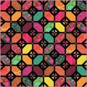 """Kasada  - Moda Quilt Top Kit - by Crystal Manning - Finished Size 63"""" x 63"""" - KIT11860"""