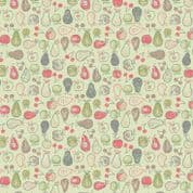 Lewis & Irene Farmers Market - 5355 - Fruit on Pale Green - A212.3 - Cotton Fabric