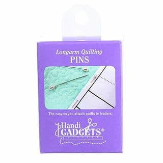 Longarm Quilting Pins - 2 inch, pear shape, white