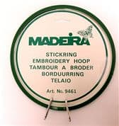 Madeira Sprung Embroidery Hoop - 7 inch (17 cm)
