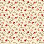 Makower UK - Little Sweetheart - 6083 - Something Borrowed Floral in Pink - 8828_L - Cotton Fabric