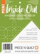Mini Inside  Out - Longarm Machine Quilting Ruler - by Natalia Bonner