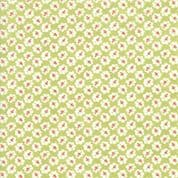 Moda - Catalina  by Fig Tree - 7249 - Rosebuds on Grass Green Background - 20372.16 - Cotton Fabric