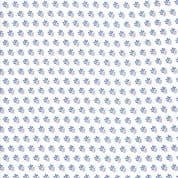 Moda - Catalina  by Fig Tree - 7257 - Blue Sprigs on Off White Background - 20377.15 - Cotton Fabric