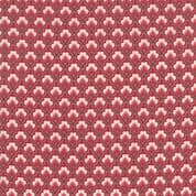 Moda - Chafarcani by French General - 6859 - Geometric Floral on Brown - 13851 11 - Cotton Fabric
