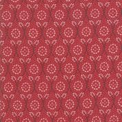 Moda - Chafarcani by French General - 6861 - Roseate Floral on Red - 13852 11 - Cotton Fabric