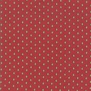 Moda - Chafarcani by French General - 6868 - Geometric  Floral on Red - 13857 11 - Cotton Fabric