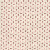 Moda - Chafarcani by French General - 6869 - Geometric  Floral on Cream - 13857 12 - Cotton Fabric