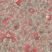 Moda - Chafarcani by French General - 6875 -  Safran Floral on Grey - 13860 15 - Cotton Fabric