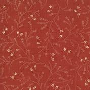 Moda French General Favorites - Bolt 6159 - Cream Floral on Red  - Moda No. 13552 14 - Cotton Fabric